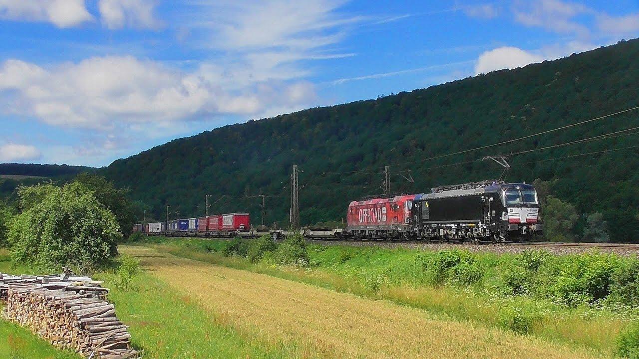Züge im Maintal #1 mit BR185 BR193 BR192 BR152 BR445 BR140 ET425 BR187