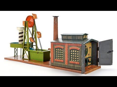 Bing Schöpfwerk mit Maschinenhaus
