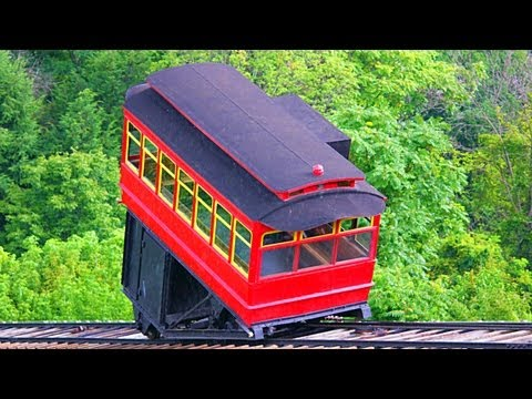 Duquesne Incline To Mount Washington, Pittsburgh - 2014