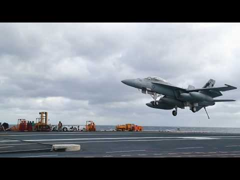 USS Gerald R. Ford Launches and Recovery