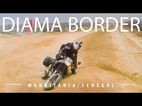 E2/V12 Cruzar a Senegal por Diama -  Diama border