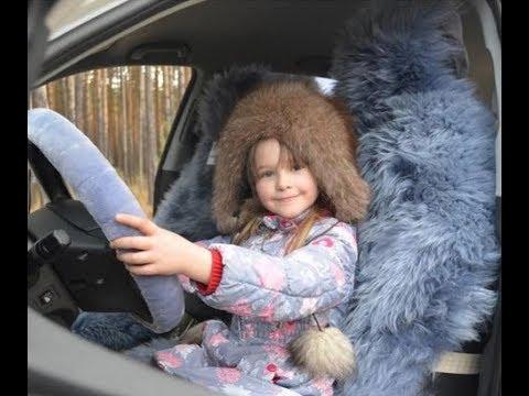 Меховые накидки в детское автокресло и автолюльку в Томске