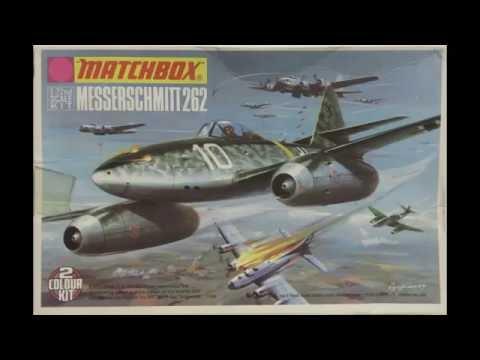 1/72 Matchbox Messerschmitt 262 Kit# PK21