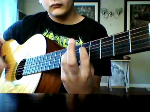 Black Sabbath Iron Man Guitar intro
