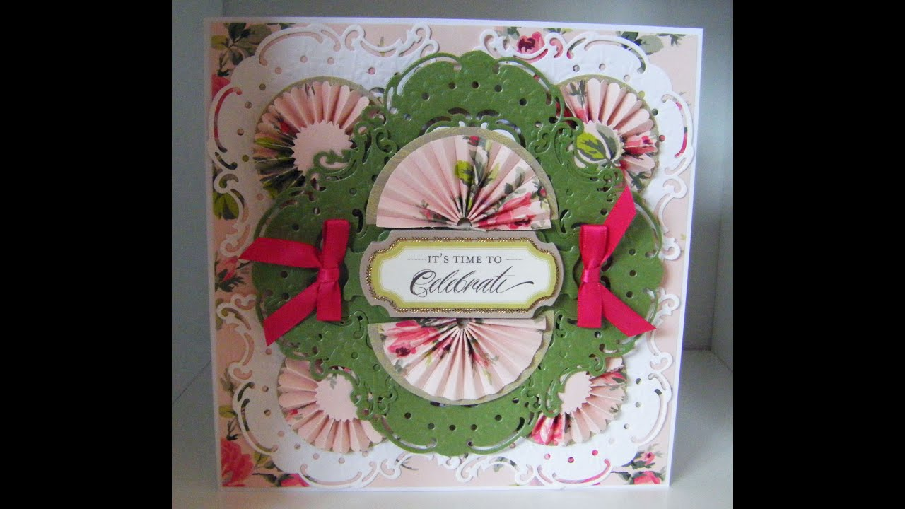 170rdmaking Project Anna Griffin Ornate Frame 3d Layer Card