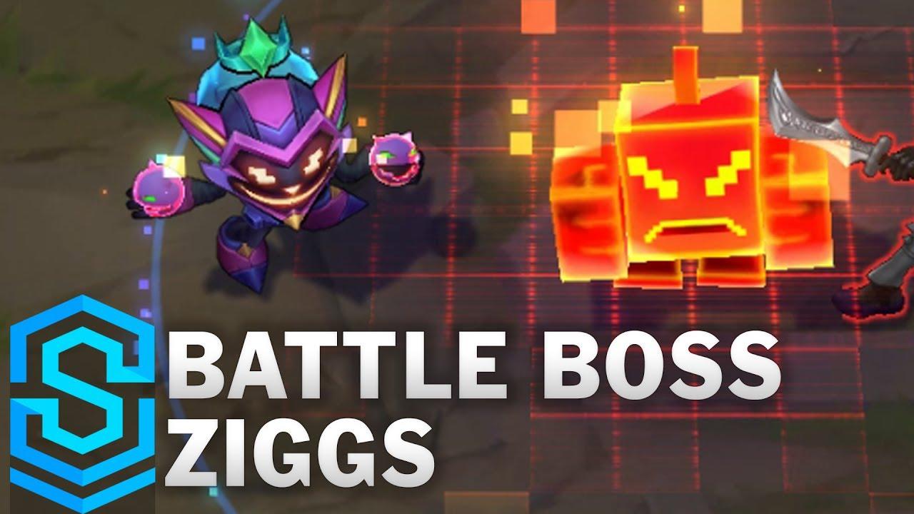 3a118a6e54f Battle Boss Ziggs Skin Spotlight - Pre-Release - League of Legends ...