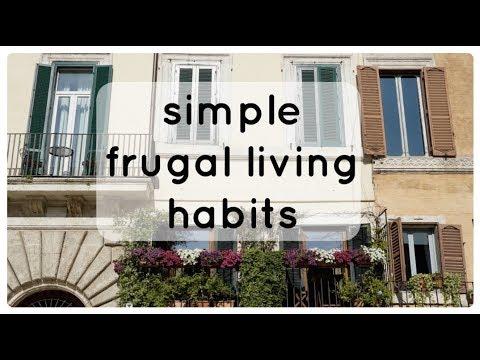 Simple Frugal Living Habits | Frugal Minimalism