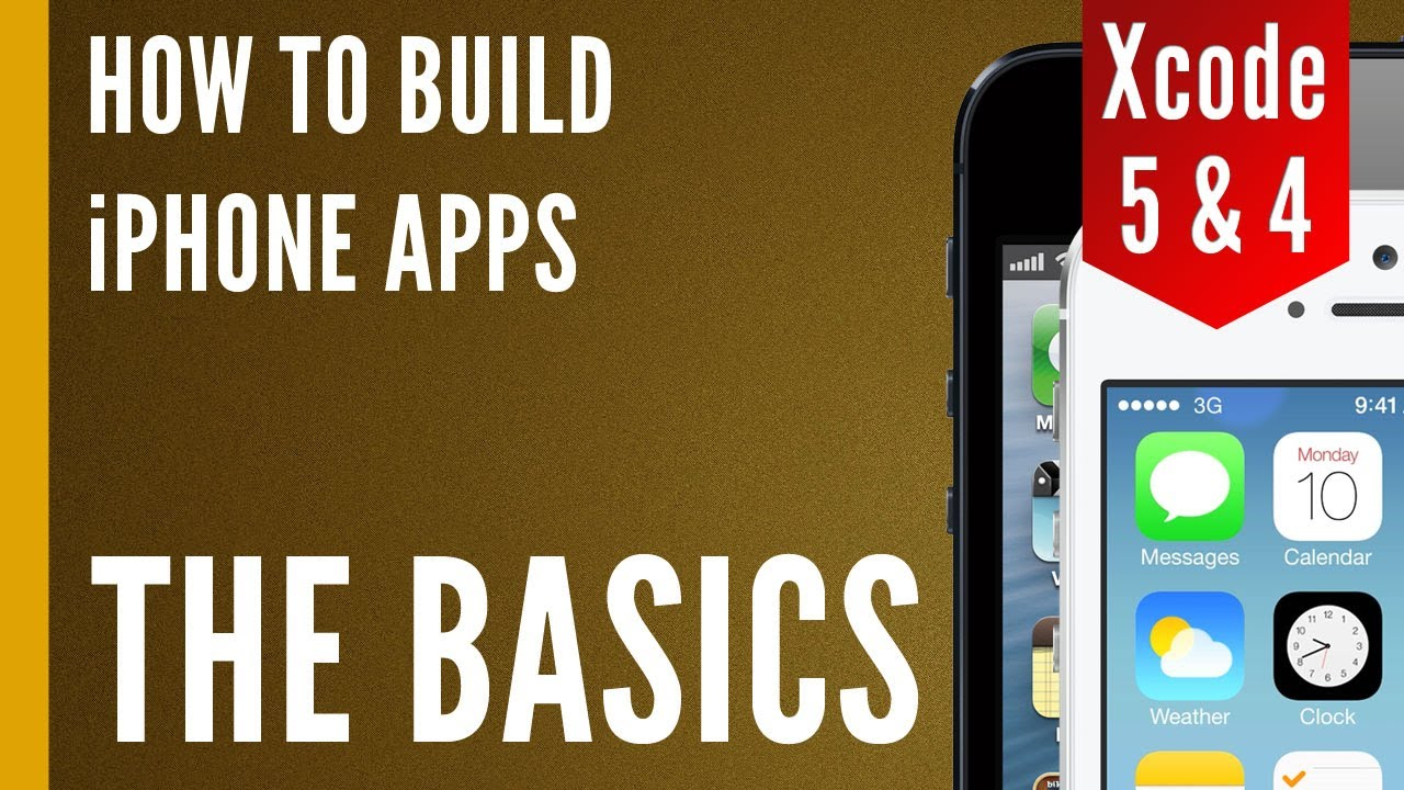 How To Make An Iphone App  Our First Xcode Project