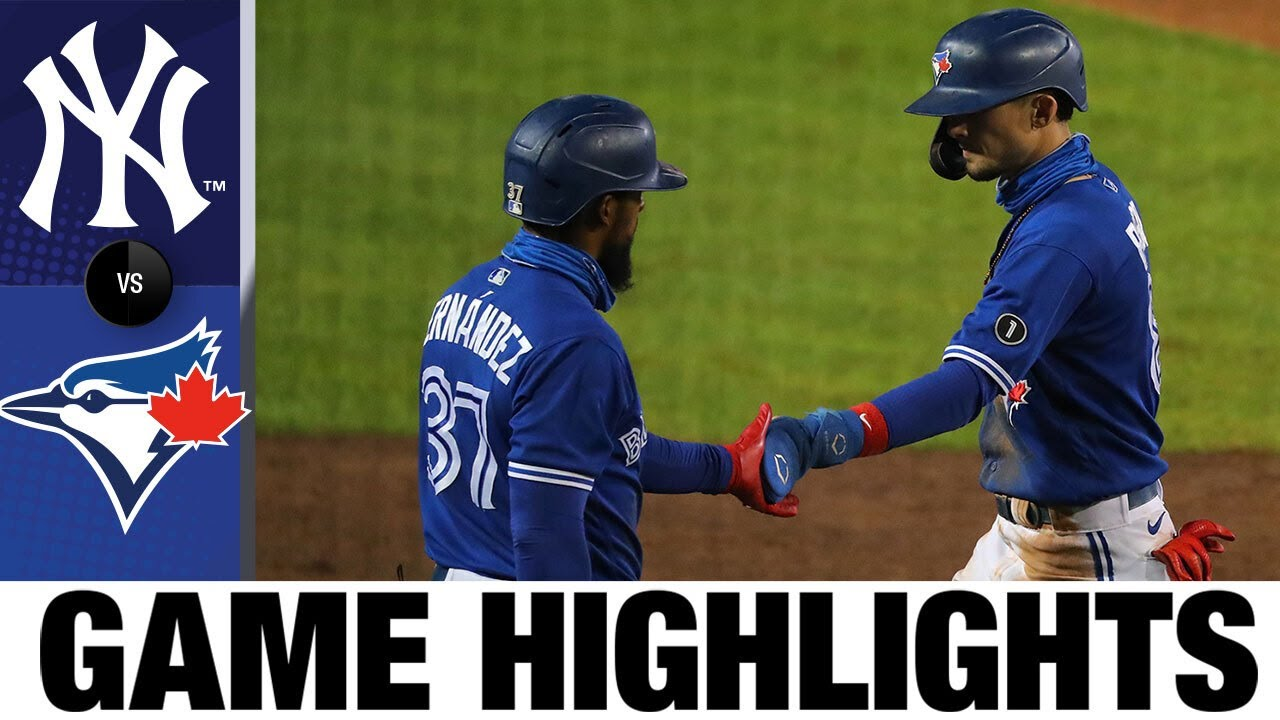 Blue Jays offense erupts in 14-1 win over the Yankees | Yankees-Blue Jays Game Highlights 9/23/20