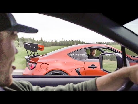 How Much Faster Is A WRX vs BRZ? - YouTube
