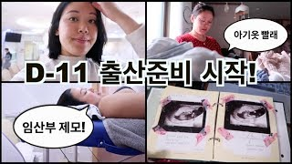[VLOG] 출산준비 시작 | 임산부 왁싱 | 초음파사…