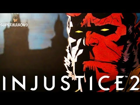 "Thumbnail: Injustice 2: Hellboy Gameplay Breakdown! Doomsday 2.0? - Injustice 2 ""Hellboy"" Gameplay"