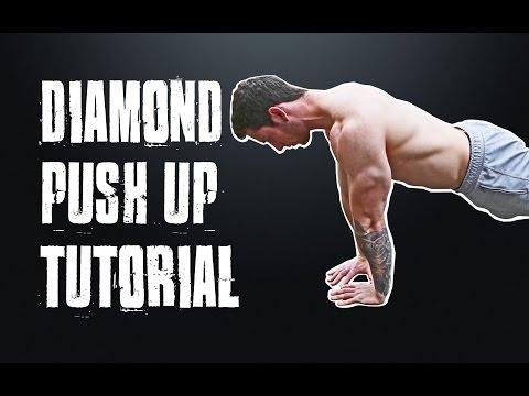 Diamond Push Ups Tutorial