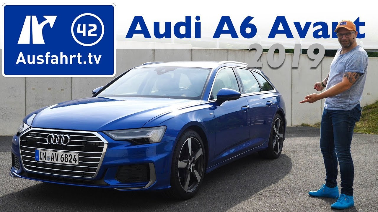2019 audi a6 avant 45 tfsi quattro c8 kaufberatung test deutsch review fahrbericht youtube. Black Bedroom Furniture Sets. Home Design Ideas