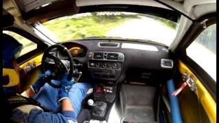 Alex Mirea - Honda Civic EK - Trofeul Rasnov CNVCD 2013