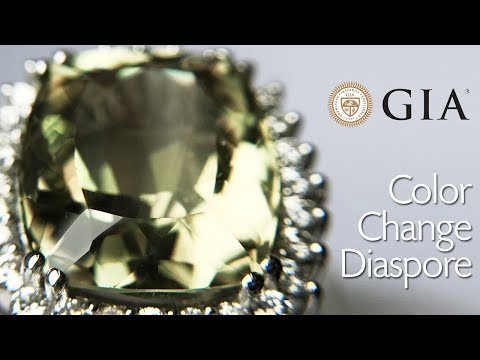 *GIA* Ultra Rare 19.42ct Color Change Diaspore Ring - Paul Reinhard