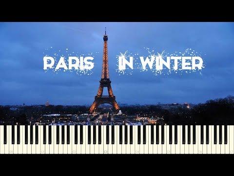 ♪ Yuhki Kuramoto: Paris in winter - Piano Tutorial