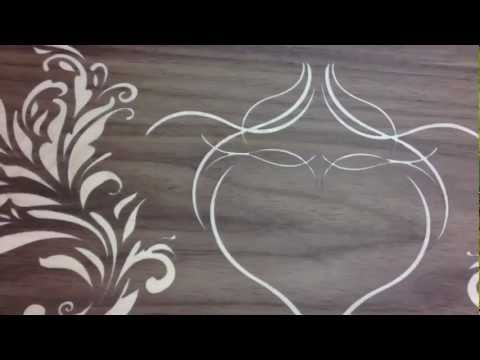 Finished with the inlay