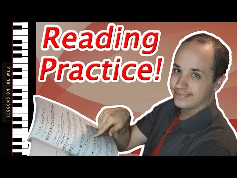 Easy Practice Lesson - How to Read Sheet Music for Beginners