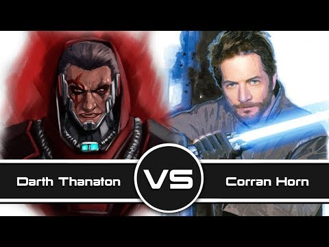 Versus Series: Darth Thanaton VS Corran Horn