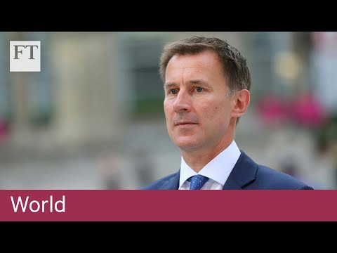 Jeremy Hunt appointed UK foreign secretary