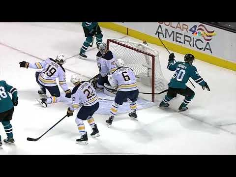 Buffalo Sabres vs San Jose Sharks - October 12, 2017 | Game Highlights | NHL 2017/18