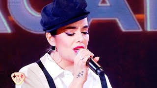 Ángela Leiva interpretó a Whitney Houston a capella y dejó a todos boquiabiertos una vez más