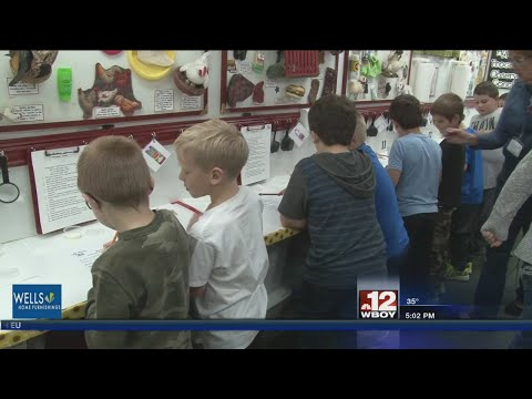 Wilsonburg Elementary School students learn agriculture education