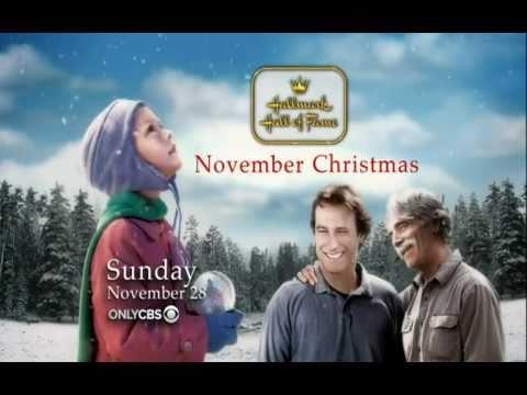 November Christmas.November Christmas Hallmark Hall Of Fame Movie Promo