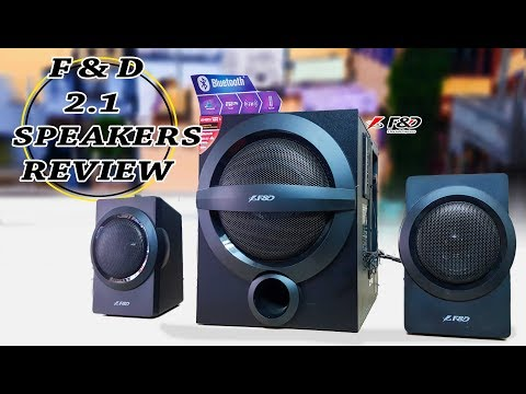 F&D A140X 2.1 Channel Multimedia Bluetooth Speakers Unboxing And Full Review - [हिंदी/Urdu]