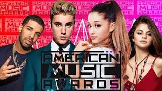 winners american music awards 2016
