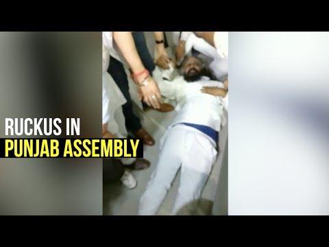 Ruckus In Punjab Assembly, AAP MLA Injured