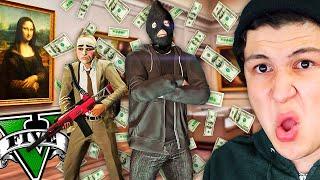 ROBO al MUSEO de ARTE en GTA 5! Grand Theft Auto V - GTA V Mods