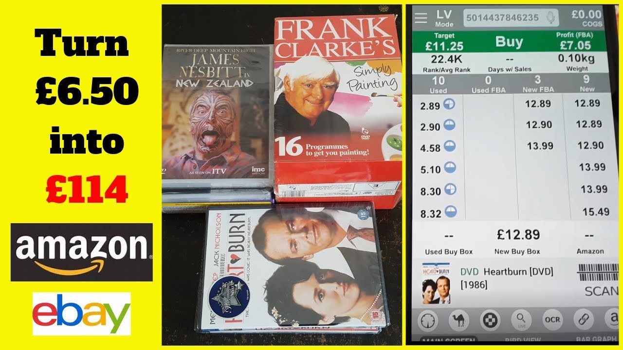 Sell Dvds Cds Pc Cd Roms On Amazon And Ebay Car Boot Sale Bargains Youtube