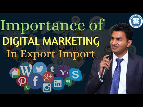 Importance of Digital Marketing In Export Import Business || Paresh Solank || Online Exim Solution thumbnail