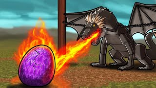 1 Secret WAY to Hatch DRAGONS! (Minecraft Dragons)
