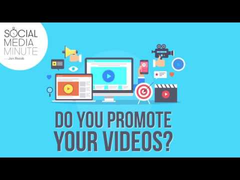 Most Videos Posts Today Are Promoted. Are Yours? - Social Media Minute