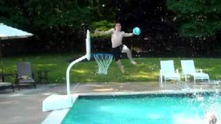 Amazing Pool Basketball Dunks 4