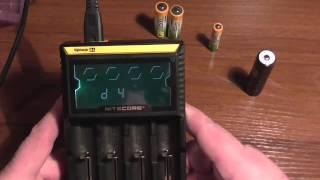 Мои впечатления о зарядке Nitecore D4
