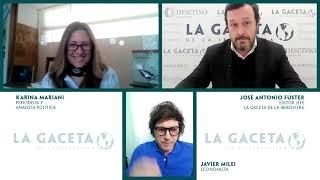 Javier Milei: 'Si Argentina sigue con el socialismo, se convertirá en Villa Miseria'