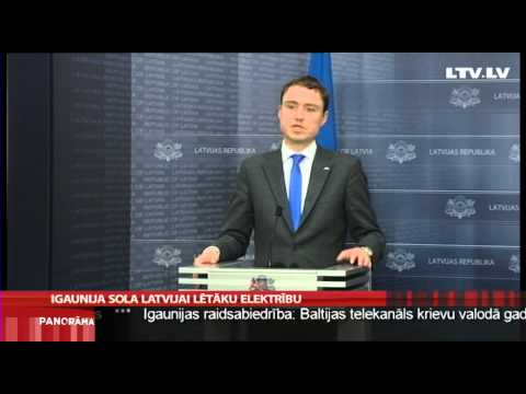 Igaunija sola Latvijai lētāku elektrību