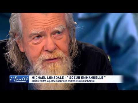 """Michael Lonsdale : """" Soeur Emmanuelle a changé ma vie"""""""