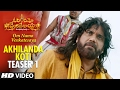 Akhilanda Koti Video Teaser 1 Om Namo Venkatesaya Nagarjuna Anushka Shetty MM Keeravani mp3