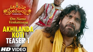 Download Hindi Video Songs - Akhilanda Koti Video Teaser 1    Om Namo Venkatesaya    Nagarjuna, Anushka Shetty, MM Keeravani