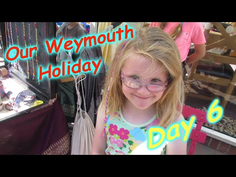 """Our Weymouth Holiday Day 6 """"Braids & Smugglers Cove"""""""