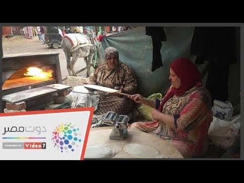 محلاها عيشة الفلاحة.. أم أية وجيرانها حاربن البطالة فى المحلة  - 16:55-2019 / 2 / 19
