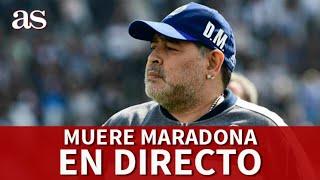 MUERE MARADONA| EN DIRECTO desde BARCELONA I Diario AS