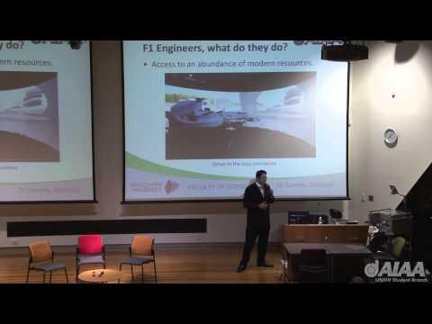 AIAA UNSW Public Lecture-Formula One Aerodynamics- Dr Sammy Diasinos
