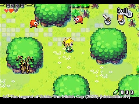 Top 100 Game Boy Advance Games In 10 Minutes