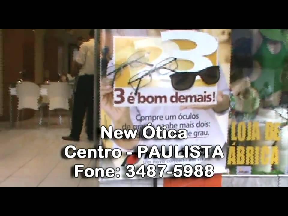 Comercial New Ótica Paulista.mpg - YouTube 6b1eed07a6